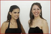Guadalupe Ceballos y Fiorella Spadone