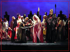 Fiorella Spadone en Nabucco - Teatro Avenida - Octubre 2004