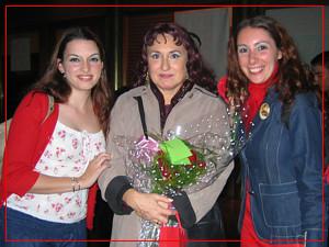 Cecilia Vicchi, Adelaida Negri y Fiorella Spadone - Teatro Avenida - Octubre 2004