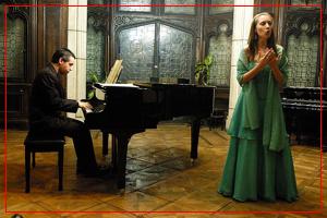 Damián Roger (Piano) y Fiorella Spadone (Soprano)