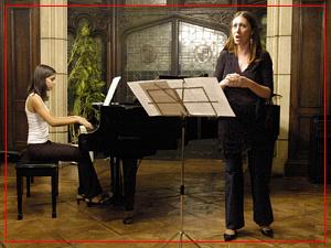 Guadalupe Ceballos y Fiorella Spadone - Conservatorio Nacional - Octubre 2005