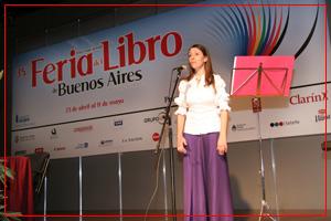 Feria Internacional del Libro de Buenos Aires. Abril 2010