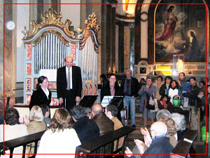 Concierto en la Catedral Metropolitana de Buenos Aires - Agosto 2006
