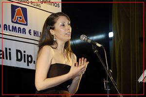 Fiorella Spadone - Soprano. Feria del Libro de Rojas. Octubre 2010.