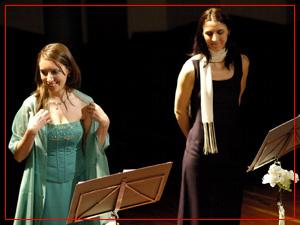 Fiorella Spadone y María Laura Weiss