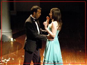 Walter Burela (tenor) y Fiorella Spadone (soprano)
