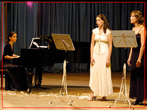 Guadalupe Ceballos, Fiorella Spadone y Mariana Izaguirre