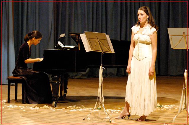 Guadalupe Ceballos y Fiorella Spadone, Auditorio San Rafael - Agosto 2007