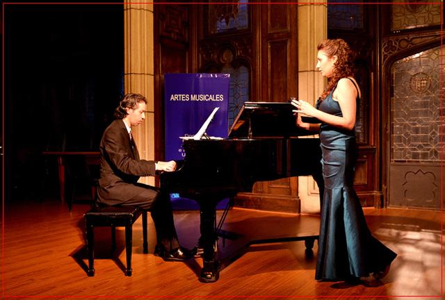 Fiorella Spadone y Damián Roger