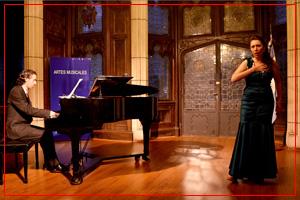 Fiorella Spadone, soprano y Damián Roger, piano