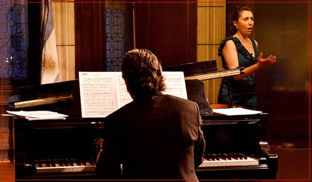 Soprano Fiorella Spadone - Piano Damián Roger
