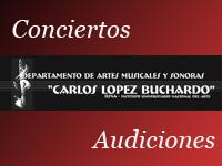 Audiciones y conciertos. Conservatorio Nacional. 2006