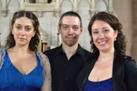 Vanina Guilledo, Damián Roger y Fiorella Spadone