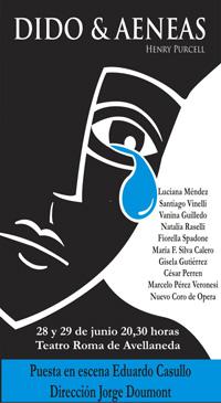 Dido & Aeneas de Henry Purcell - Junio 2012 - Teatro Roma de Avellaneda