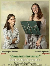 17/06/2006 - Concierto de canto y piano en La Manufactura Papelera